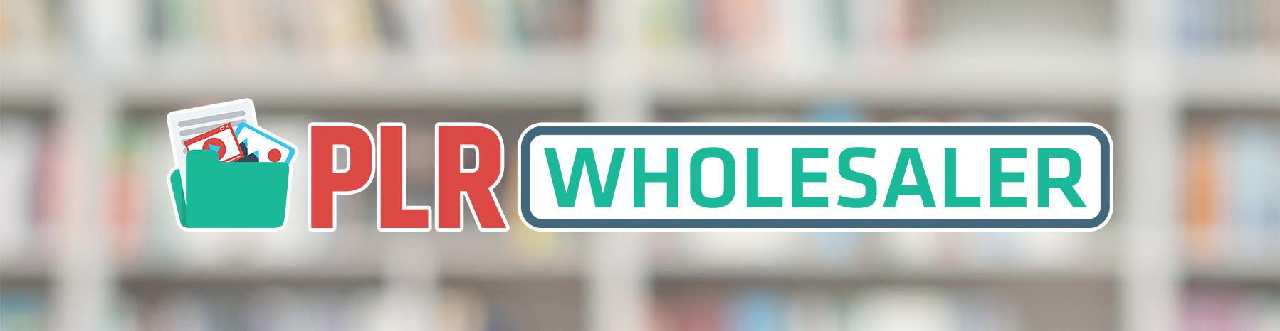 PLR Wholesaler header image